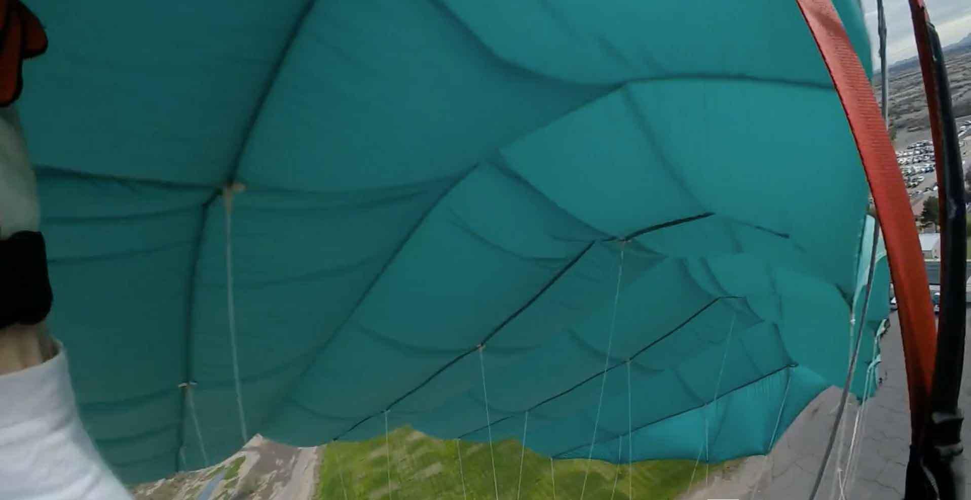 Canopy collision