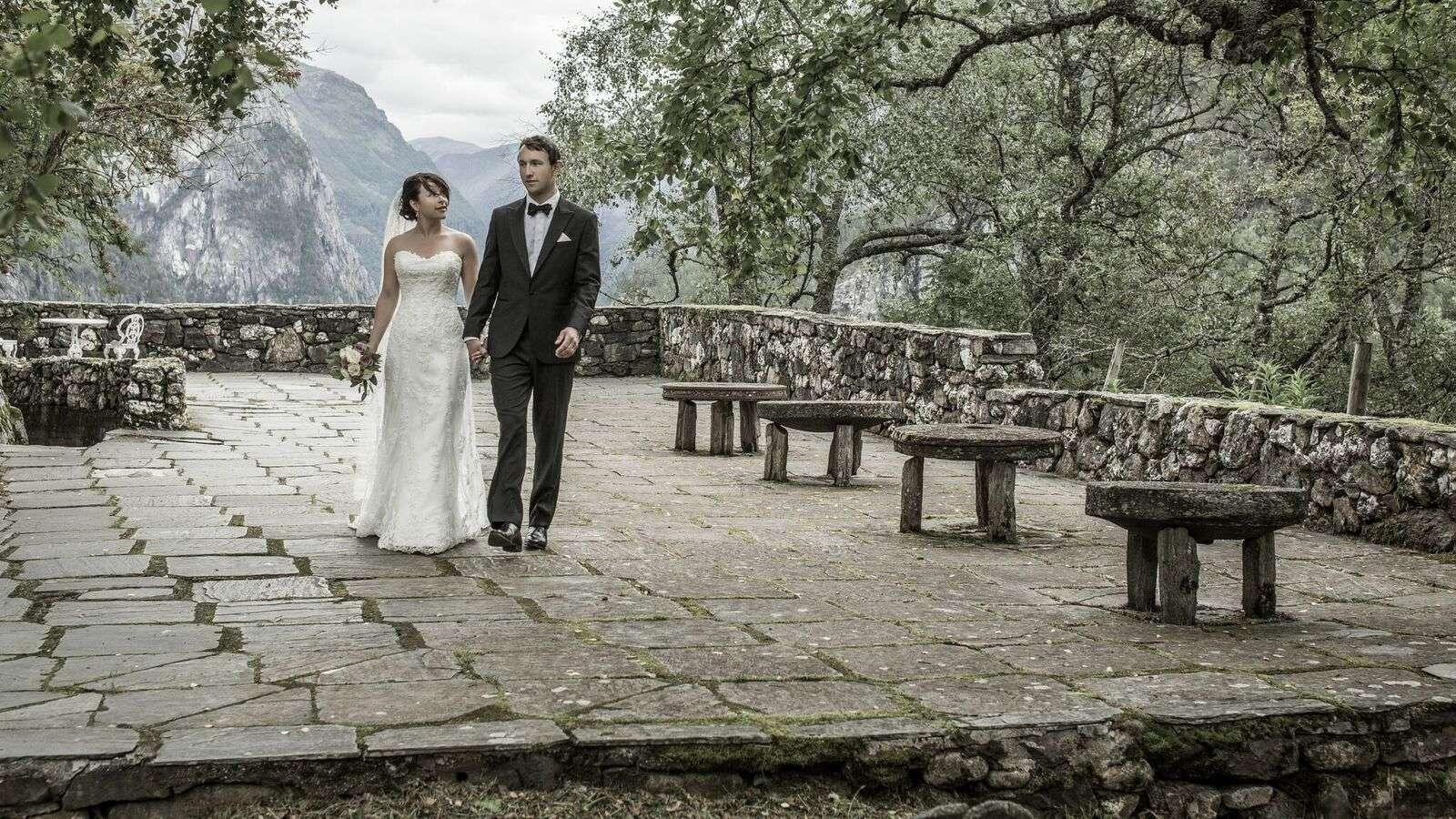 Anna and Kristian Moxnes Wedding