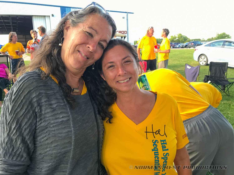 Judge Marylou Laughlin and Hal's sweetheart, Tara Richards