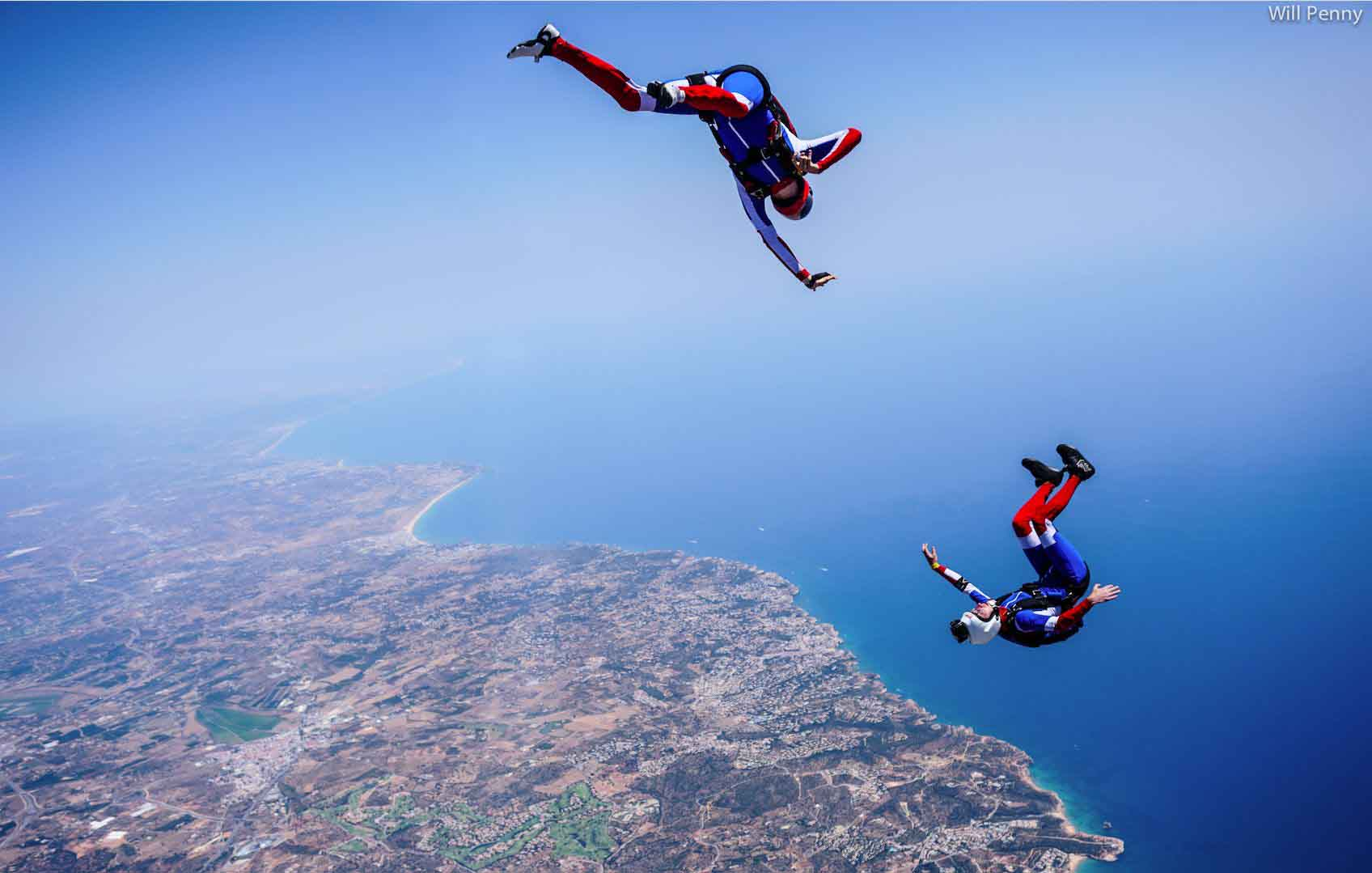 Volosity Freestyle, training over Skydive Algarve