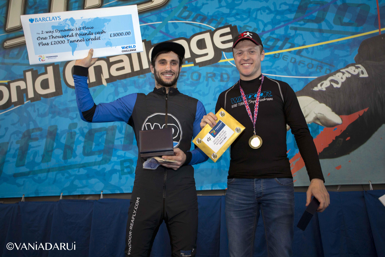 D2W Winners, World Challenge 2017, Luke Warren & Josh O'Donoghue