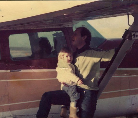 Me and my Dad and our jump plane