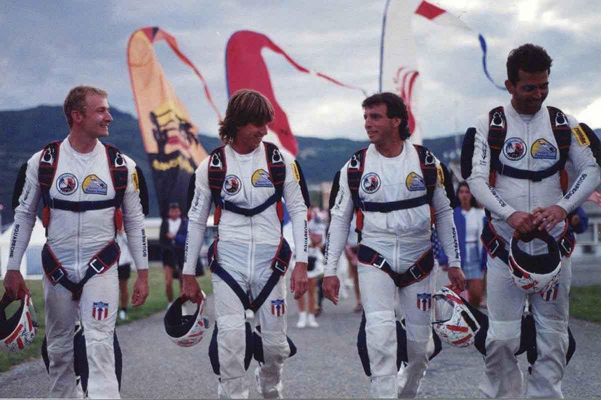 Airspeed 1995 – Mark Kirkby, Jack Jefferies, Dan BC, Kirk Verner