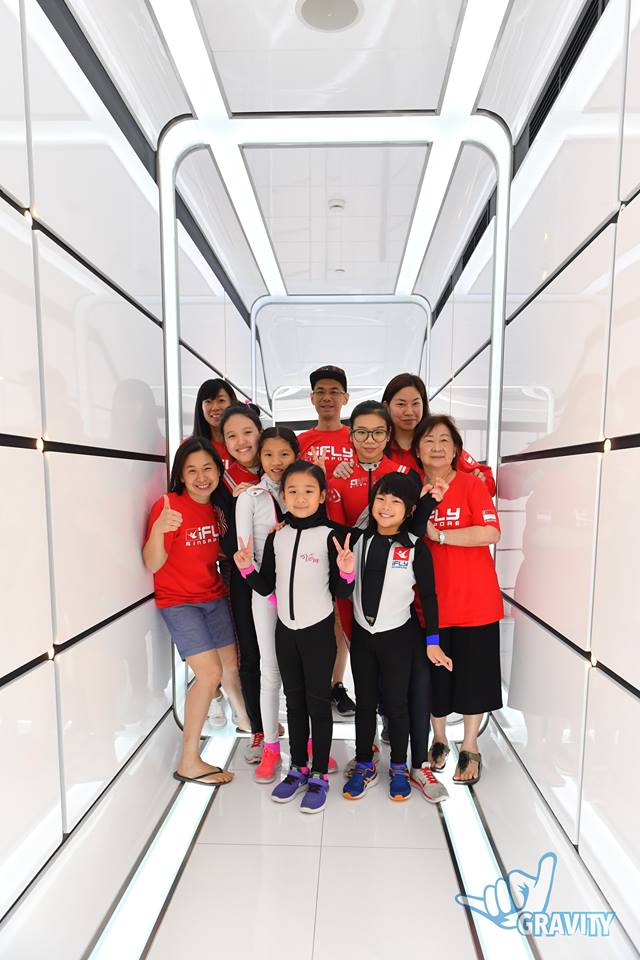 The Singapore Delegation at Flight Fighters, Gravity
