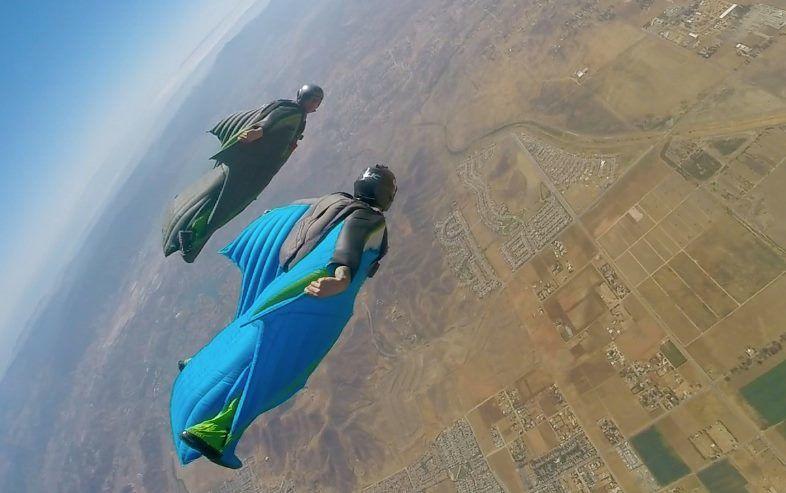 Become proficient in wingsuit skills