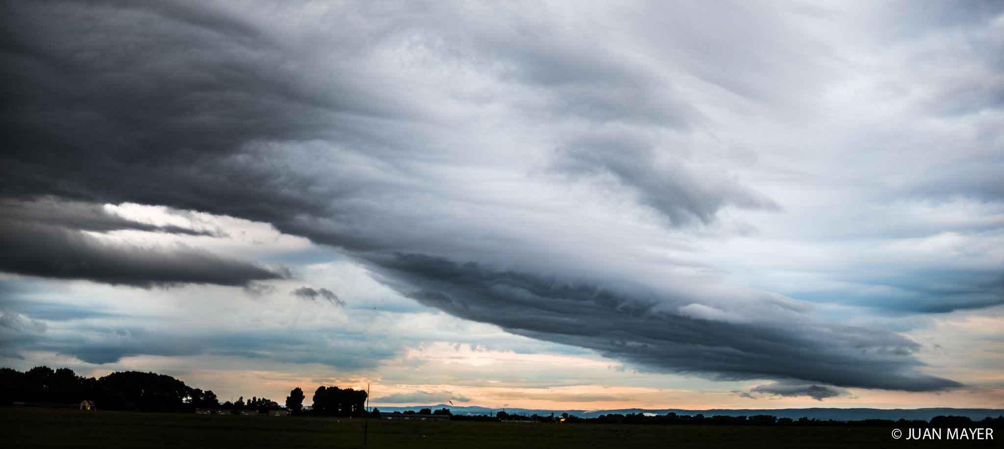 Cloudy skies over Prostejov
