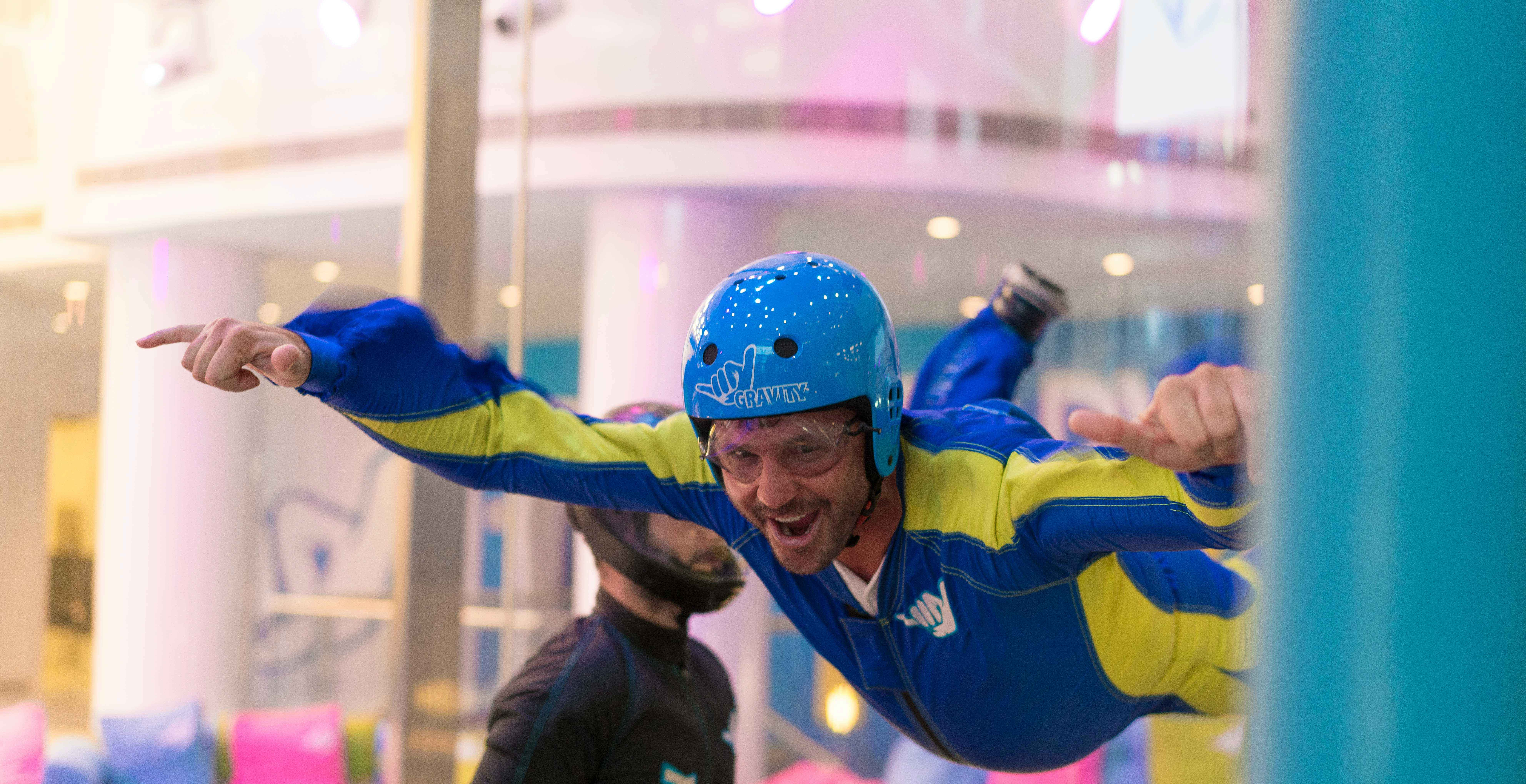 Indoor Skydiving is fun!