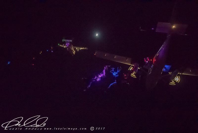 Night jump exit