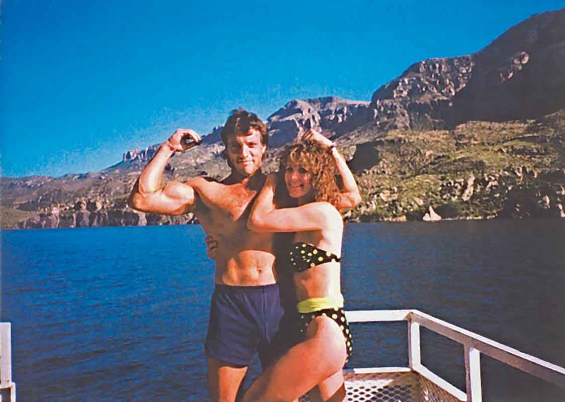 Dan and Kristi before the crash