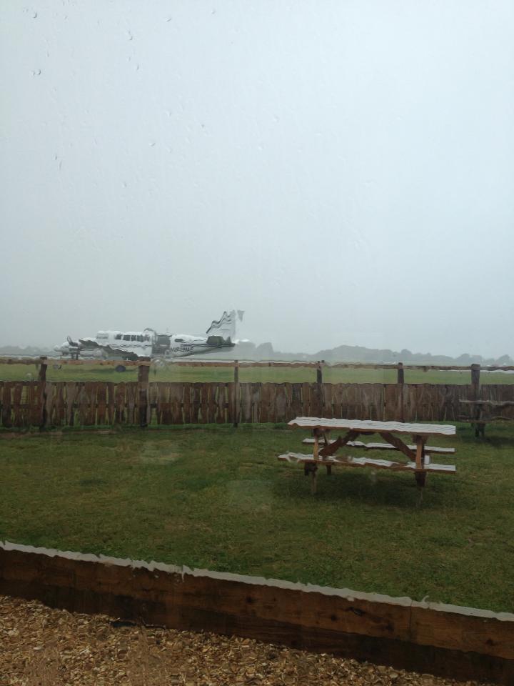 Raining at Dunkeswell DZ
